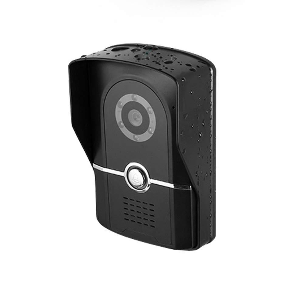 YUN YUN YUN Video Doorbell@ Videoportero Intercomunicador Timbre Sistema IR Cámara De Seguridad 1000TVL Monitor Manos Libres TFT LCD Monitor Acceso Remoto IP55 A Prueba De Agua/Dos Métodos De Desbloqueo 6c6397