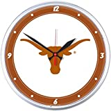 NCAA Texas Longhorns WinCraft Official Round Clock