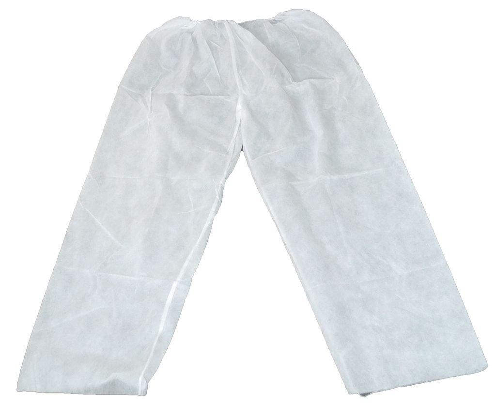 Pants, Polyproplyene, White, 2XL/3XL, PK25