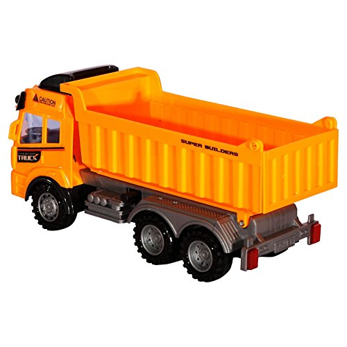 Rc Dump Truck Toy Construction Truck Remote Control Truck