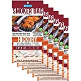 Camerons Products Smoker Bags - Set of 6 Hickory Smoking Bags for Indoor or Outdoor Use - Easily Infuse Natural Wood Flavor