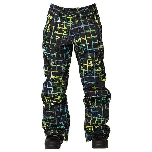 DC Shoes Mens Dc Shoes Recon 14 - Snowboard Pants - Men - Xl - Black Neo Grid Xl - Recon Mens Snowboard