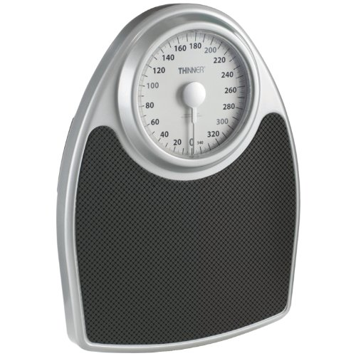 Thinner Extra-Large Dial Analog Precision Bathroom Scale; Bath Scale