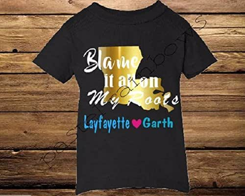 Amazon.com: Blame it All on My Roots Country Music T-Shirt