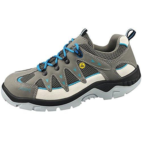 Anatom Abeba 32290-37 zapatillas de seguridad baja ESD, talla 37, color Gris y azul