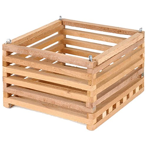 Sun Bulb 52720 Better Gro Square Cedar Basket, (Orchid Box)