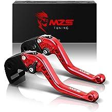 MZS Short Brake Clutch Levers for Kawasaki ER-5 04-05/ GPZ500S EX500R