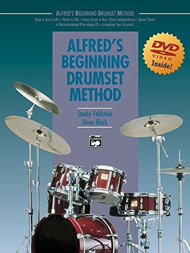 Alfred's Beginning Drumset Method (Book & ()