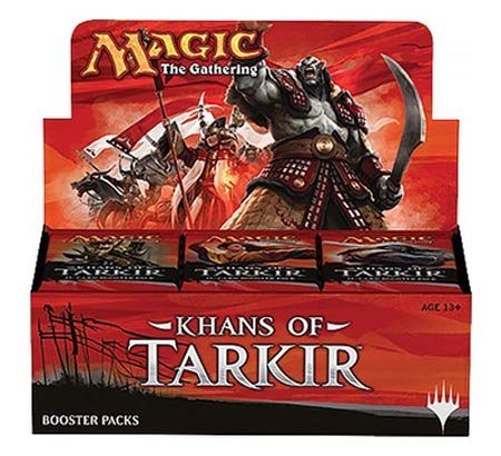 Khans of Tarkir - Magic the Gathering Sealed Booster Box (MTG) (36 Packs) by Magic The Gathering