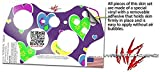 XBOX 360 Wireless Controller Decal Style Skin - Crazy Hearts (CONTROLLER NOT INCLUDED)