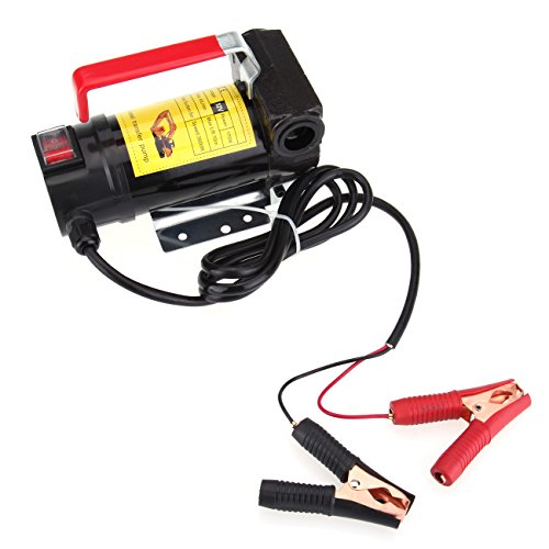 Iglobalbuy Portable 45L/Min DC 12V Fuel Self Priming Bio-diesel Diesel Transfer Pump ()