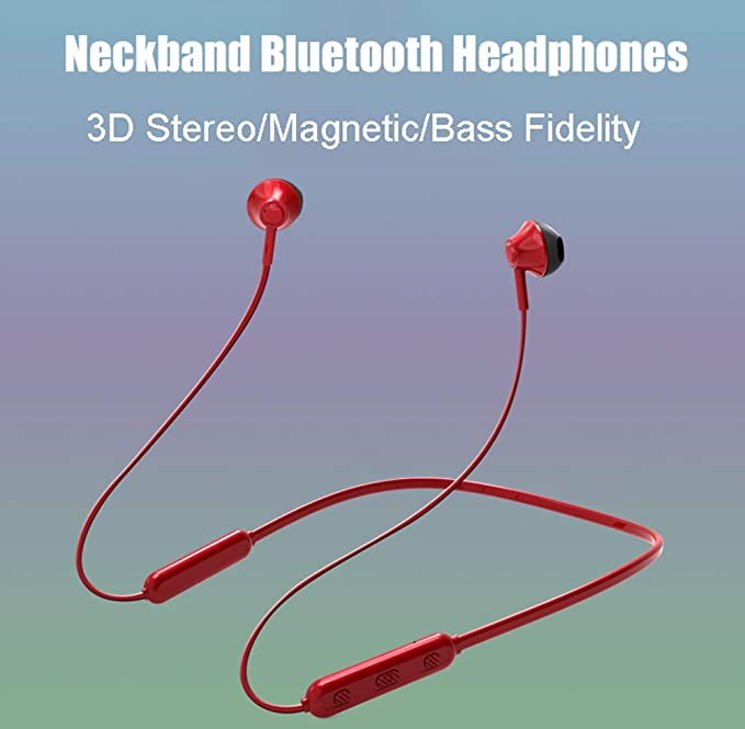 Amazon.com: Tomorrow Sun Shine Bluetooth Headphones,Wireless Earphones Bluetooth 4.2 Magnetic,Stereo Soundbuds,Noise Cancelling,for Work Out,Running,Jogging ...