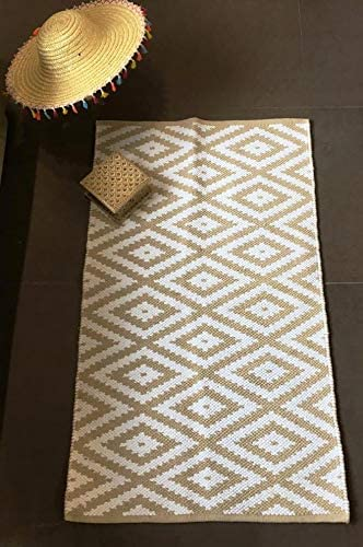 Jaipur Home Area Rug 2.25' x 3.75' Geometric Rectangular Cotton Rug