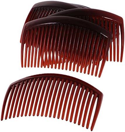 Gazechimp 12 Stück Haarkämme 23 Zähne Einsteckkamm Haarclip Haarnadel Damen Haar Zubehör