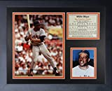 "Legends Never Die ""Willie Mays San Francisco Giants"" Framed Photo Collage, 11 x 14-Inch"