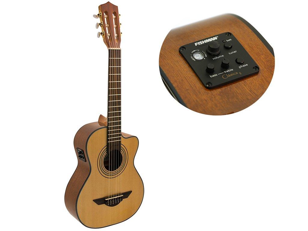 H. Jimenez LR2CE Voice de Trio Acoustic-Electric Requinto