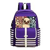 Fashion Printed Backpack Cute Dog School Bag
