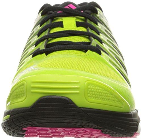 Adidas Performance Womens Volley Response 2 Boost W Scarpa Da Pallavolo Semi Melma Solare / Argento Metallizzato / Nero