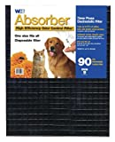 air conditioner and purifier - WEB Absorber Cut to Fit Odor Control Air Filter with Carbon