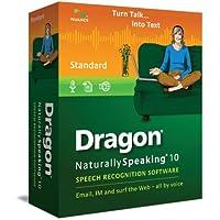 Dragon NaturallySpeaking 10 Standard (Old Version)