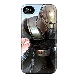 Fashion Tpu Case For Iphone 5/5s- Star Wars The Force Unleashed Defender Case Cover