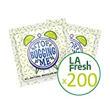 La Fresh Mosquito Repellent Wipes, Individually Wrapped – Natural, Deet Free, Non Toxic, Long Lasting Repellent Protects Against Almost All Bugs 200 Packets