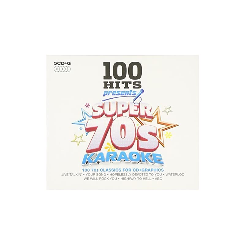 100 Hits Presents: Super 70s Karaoke by Various Artists (2014-11-18)                                                                                                                                                                                                                                                                Karaoke