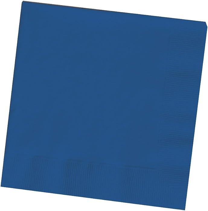 The Best Napkins Paper Beverage Blue
