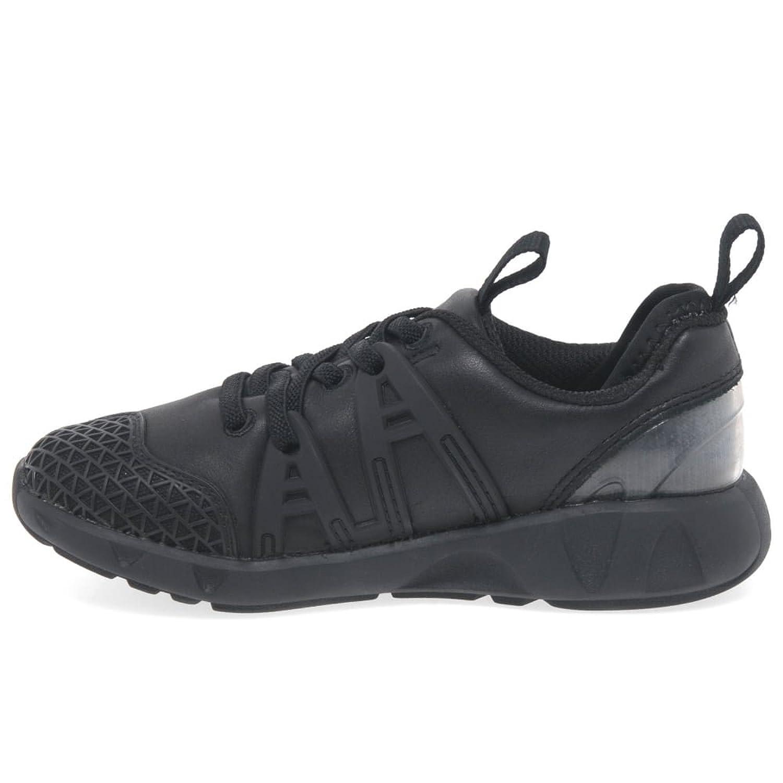 Clarks LuminousMax Boys Infant School Shoes 12.5 F Black: Amazon.co.uk:  Shoes & Bags