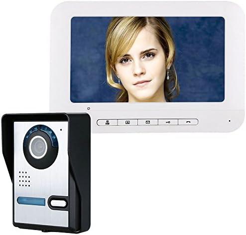 IR-CUT HD 700TVLカメラ付き7インチTFTビデオドアの電話ドアベルインターホンキット1カメラ1モニタナイトビジョン