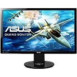 ASUS Gamingモニター 24型フルHDディスプレイ ( 応答速度1ms / リフレッシュレート144Hz / NVIDIA 3D Vision2対応 / 昇降・ピボット機能 / DP,HDMI,DVI / スピーカー内蔵 / VESA規格 / 3年保証 ) VG248QE-J