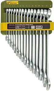 Proxxon PR23821 - Set de llaves planas con agujeros 15 uds Proxxon