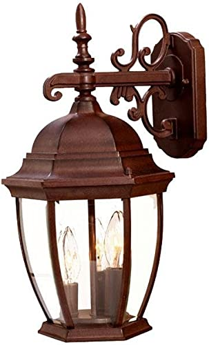 Acclaim 5032BW Wexford Collection 3-Light Wall Mount Outdoor Light Fixture