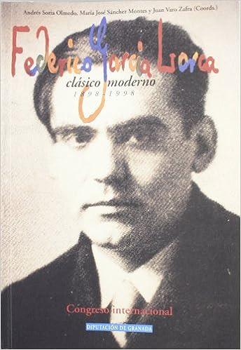Book Federico Garcia Lorca Clasico Moderno