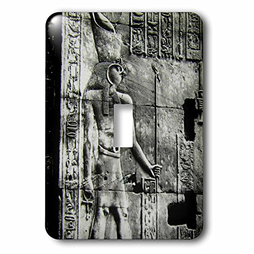 3dRose (LSP_246851_1 Single Toggle Switch Temple of Horus Relief Circa 1910 Vintage Egyptian ()