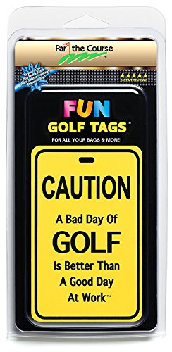 Golf Tournament Package - Fun Golf Tags Light Reflective 4 Luggage Bags-Golf Bags-Backpacks/Accessory-Gift