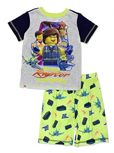 cfeaaa9c Lego Movie 2 The Second Part Boy's Toddler 2 Piece Short Sleeve Tee Shorts  Pajamas Set