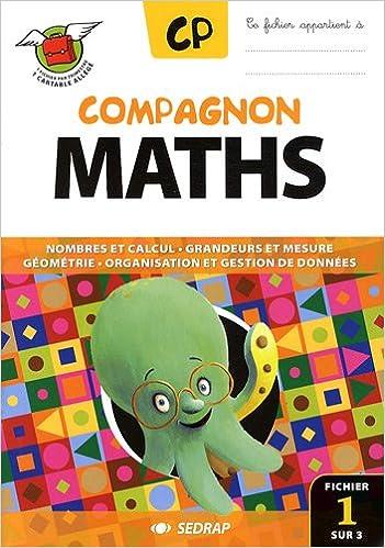 Livres Compagnon maths CP CP (Le lot de 3 fichiers) pdf