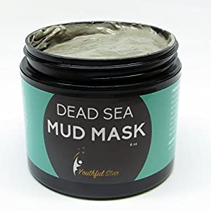 Youthful Star Dead Sea Mud Mask for Anti Aging Facial Treatments