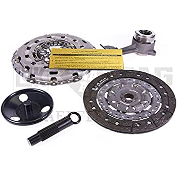 LUK CLUTCH KIT REPSET+SLAVE CYLINDER 2005-2009 FORD FOCUS 2.0L 2.3L