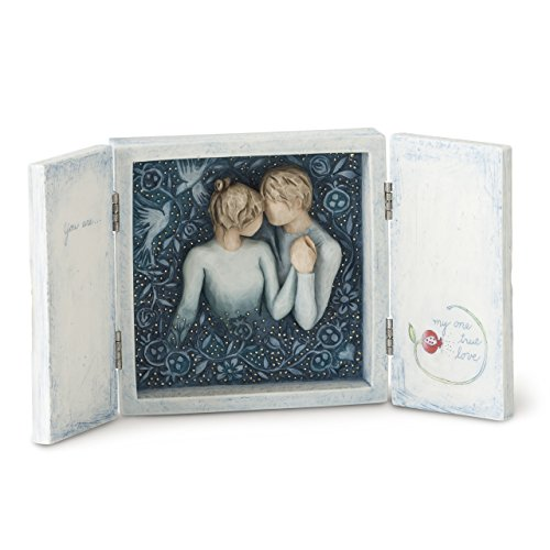 Willow Tree hand-painted sculpted box, Duet (Willow Collection)