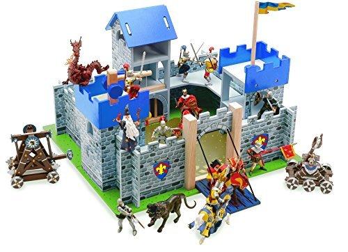 Blue Excalibur Castle (Le Toy Van Wooden Blue Excalibur Castle by Le Toy Van)