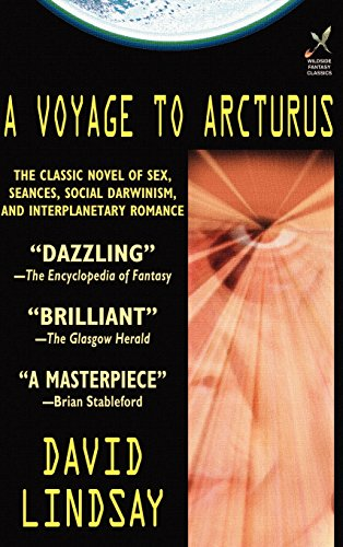 book cover of A Voyage to Arcturus