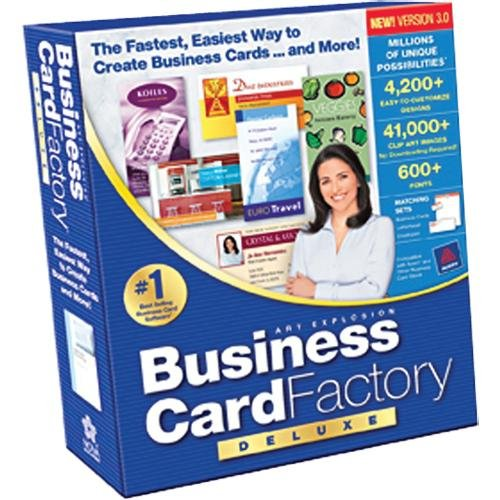 Amazon business card factory deluxe 30 business card factory deluxe 30 m4hsunfo