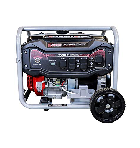 SIMPSON Cleaning SPG7593E Portable Gas Generator with Electric Start, 7500 Running Watts 9375 watts