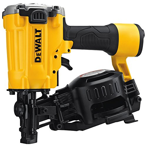 1-3/4'' 15 Degree Pneumatic Coil Roofing Nailer by DEWALT