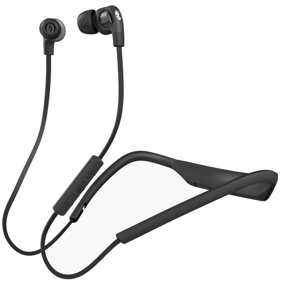 Skullcandy S2PGHW-174 in-Ear Wireless Headphones (Black/Chrome)