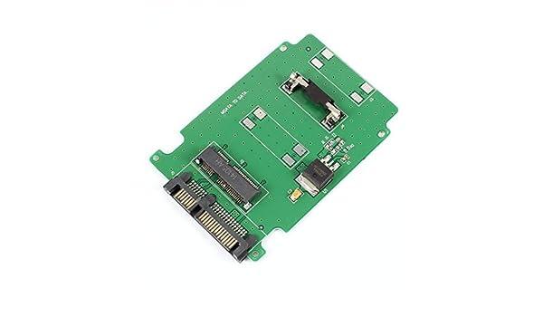 Amazon.com: eDealMax mSATA SSD a 7 + 15Pin SATA 2.5 adaptador de tarjeta de HDD Para el ordenador portátil: Electronics