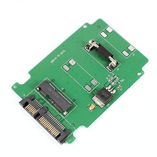 eDealMax mSATA SSD a 7 + 15Pin SATA 2.5 HDD Scheda adattatore per il Computer portatile