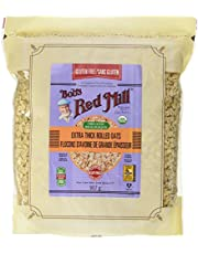 BOB'S RED MILL Gluten Free Organic Thick Rolled Oats, 907 Gram